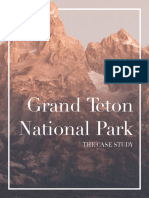 Grand Teton Book (Mock Case Study)