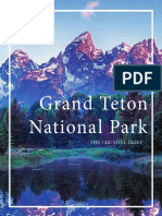 Grand Teton Book Creative (Mock Case Study)