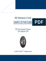 2 Unit Mathematics_HSC Notes