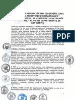 Convenio de Asignación por Desempeño (CAD) - FED Nivel 2