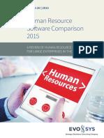 HR Software Comparison 2015