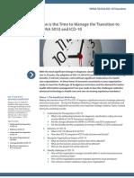HIPAA 5010 ICD-10 Transition