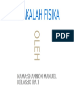 MAKALAH FISIKA