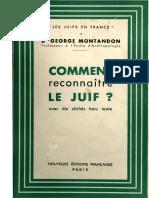Montandon George - Comment reconnaître le juif.pdf