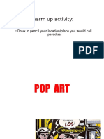 pop art presentation-