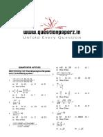 IDBI Executive Sample Paper 2 [Questionpaperz.in]