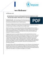 Tz EU-WFP Nutrition Action Joint News Release - English.doc
