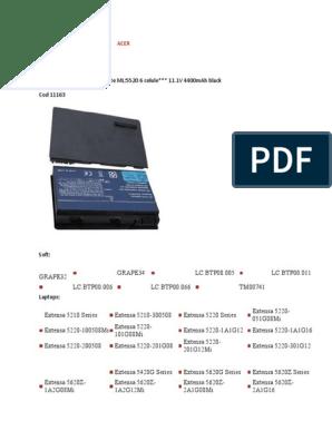 batteria compatibile 4400mah Nero Toshiba Satellite l750-1ux LiIon 10.8v