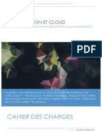 Cahier Des Charges PaaS Provisionning Datacenter