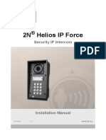 2N Helios IP Force Installation Manual en 2.2