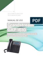 Manual Grandstream GXP1610