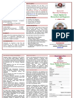 Brochure Linear Algrabra