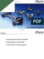 Hybrid Powertrain Solutions