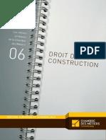 Luxembourg Chambre Des Metiers Les Cahiers Juridiques n 6 Droit de La Construction