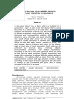 Analisis Wacana -- Bentuk Wacana Di Media Massa Prancis