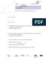 Ficha Nº 8 Estatística - Exercícios