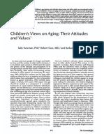 Children's Views on Aging