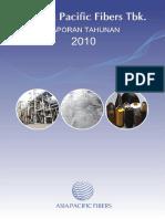 Asia Pacific Fibers Lap Thn 2010