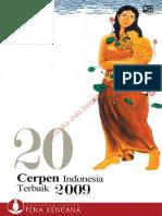 20 Cerpen Indonesia Terbaik 2009
