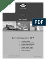 Controlador de Grupo Gerador GC-1F
