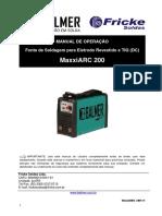Manual MaxxiARC 200 v1