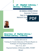 Overview of Digital LIbrary