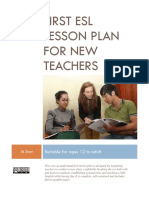 Free ESL TEFL Lesson Plan Complete