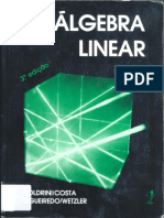 Algebra Linear Boldrini