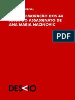 Caderno Especial - Ana Maria Nacinovic