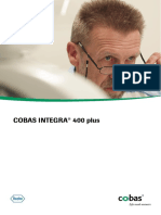 COBAS INTEGRA 400 Plus Analyzer Brochure - Test Menu