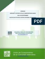 Análisis y Control de Las Comisiones Bancarias
