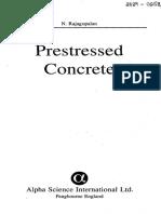 prestressed concrete