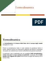 Cenni di termodinamica