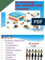11Cs of Distribution