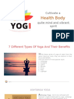 7 Different Types of Yoga and Their Benefits