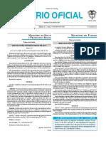 Diario oficial de Colombia n° 50.146. 13 de febrero de 2017