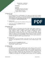 Biochem Lab notes