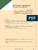PELBART, Peter Pál - Foucault Versus Agamben