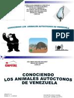 Animales Autóctonos de Venezuela