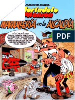 Mortadelo y Filemon 189 - Marrullería en La Alcaldía