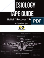 Kinesiology Tape Guide Book