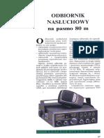 92 Nw 02 Odbiornik Nasluchowy