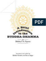 294954213 a Brief Tntroduction to the Buddha Dhamma