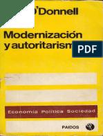 Modernización y Autoritarismo - O'Donnell