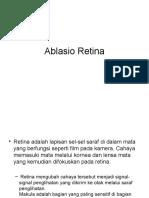 ablasio retina.pptx