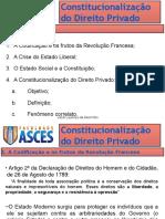 01 Constitucionalizacao Do Direito Privado - ASCES