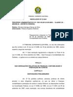 Resolução TSE n.º 23.464_2015 - Prestação de Contas Anuais