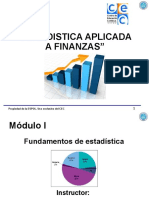Estadistica Aplicada a Finanzas UNIDAD 1
