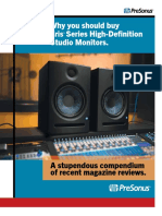 PreSonus-Eris Reviews Brochure