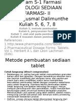 Kuliah Tek for Solid Pak Agusmal